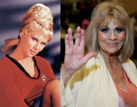 Star Trek Women Then and Now