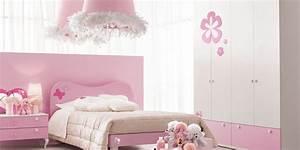 Photos deco chambre fille rose for Chambre blanc et rose