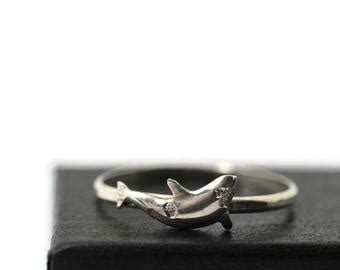 Whale Ring  Etsy. Claddagh Engagement Rings. 0.1 Carat Wedding Rings. Twisted Engagement Rings. Unique Affordable Engagement Wedding Rings. Waterfall Engagement Rings. January Rings. Iridescent Engagement Rings. Leo Birthstone Rings
