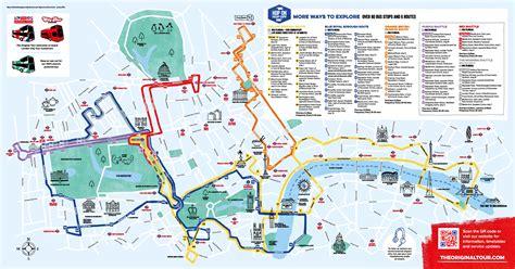 The map is very easy to use: Touristischen karte von London : Sehenswürdigkeiten und Touren