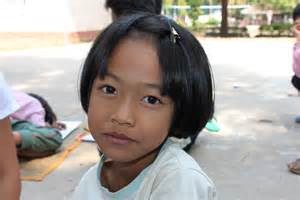 Poverty in Thailand Little Girl