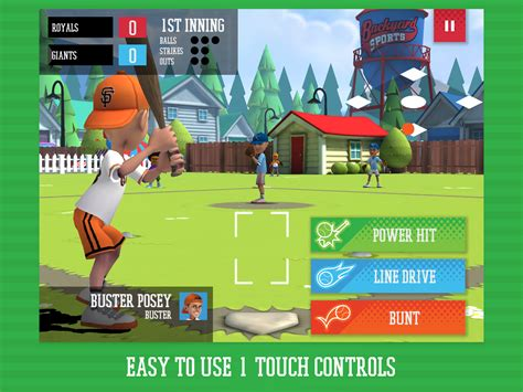 Backyard Baseball App by Backyard Sports Baseball 2015
