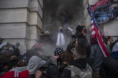 Capitol Siege: Trump Supporters Arrested Weren't Regular