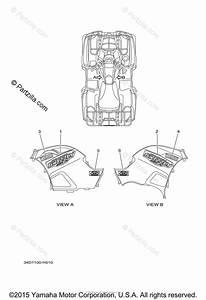 Yamaha Atv 2009 Oem Parts Diagram For Graphics