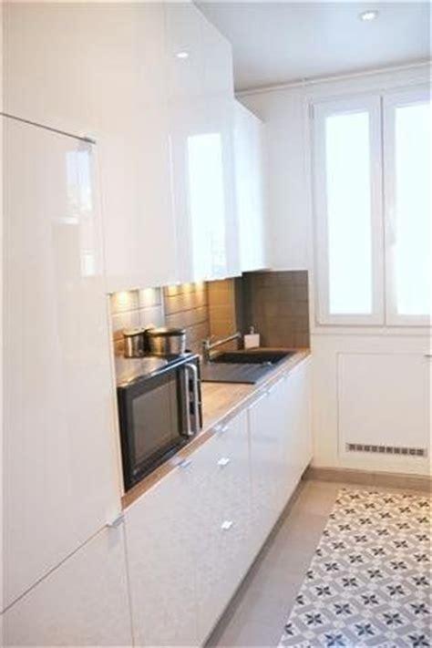 cuisine appartement parisien avant après un appartement parisien destiné à la