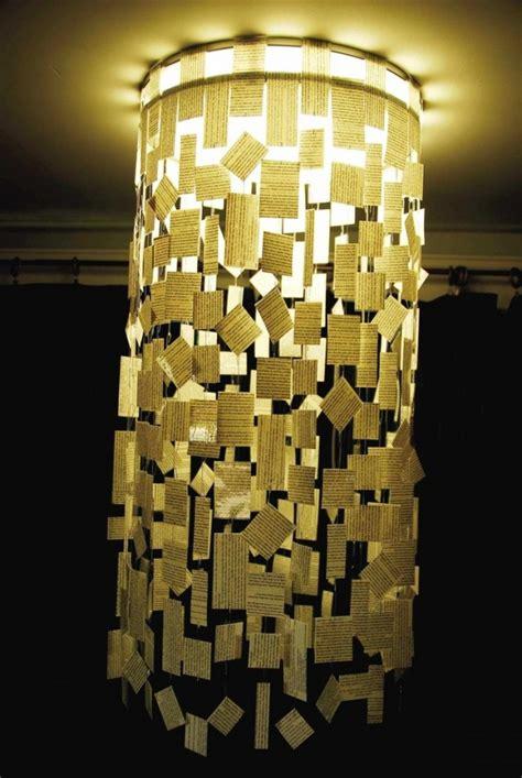 creative diy chandeliers    paper