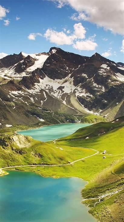 4k Italy 5k Mountains Lake Wallpapers Hills