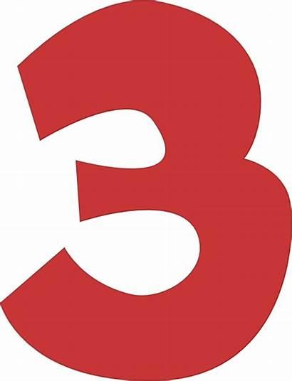 Three Number Clip Clipart Clker Vector Cliparts