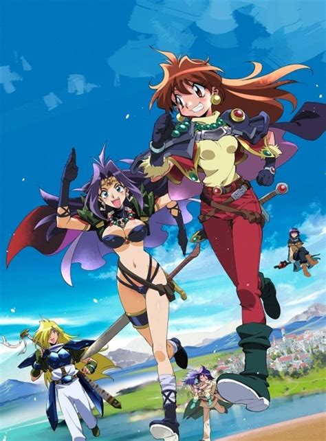 film anime naga crunchyroll delayed quot slayers quot film ova blu ray box
