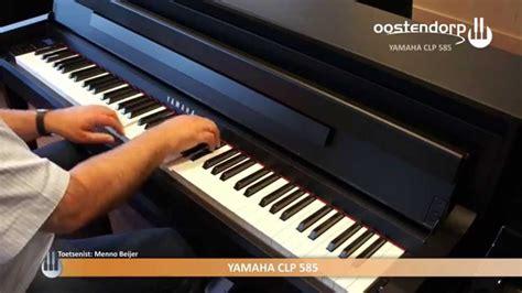 yamaha clp 585 yamaha clp 585 digitale piano sounddemo