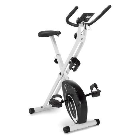 Marcy Foldable Upright Exercise Bike with Adjustable ...