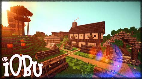 castle guard house  entrance sawmill part  minecraft timelapse lets build