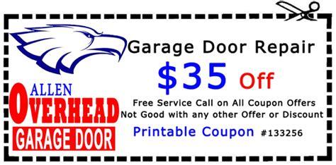 reliable garage door coupons garage door coupons allen overhead door