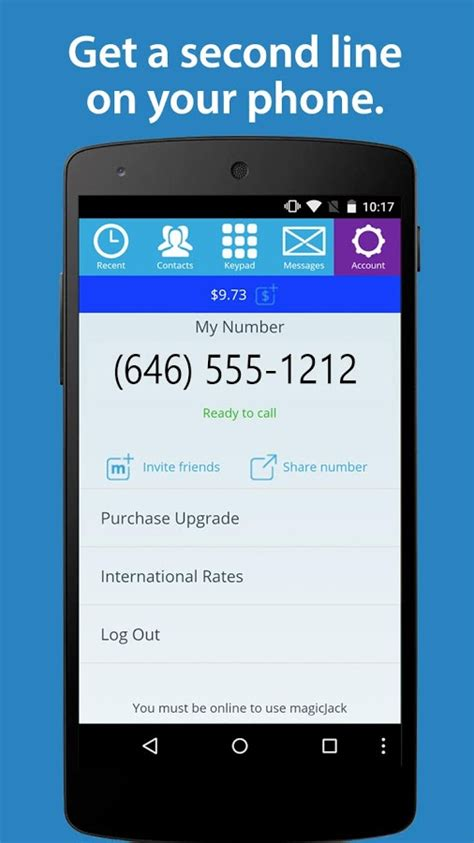 magicjack app android magicjack launches updated android app now with texting