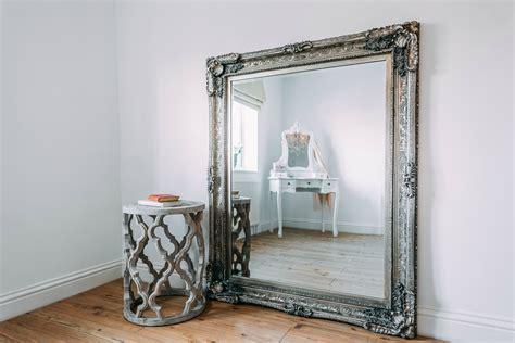 maddelena large silver mirror furniture la maison chic