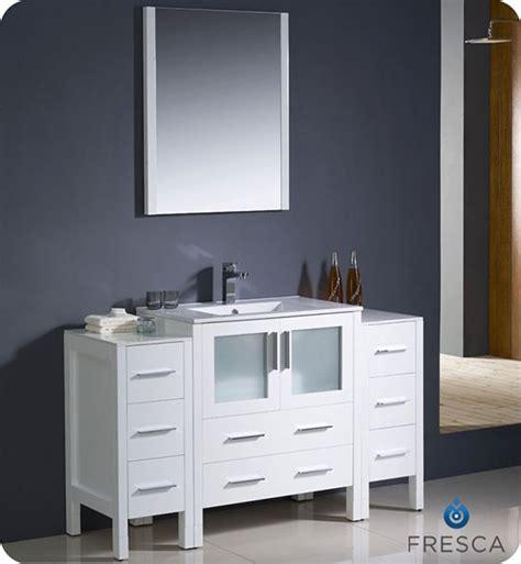 fresca torino single   modern bathroom vanity