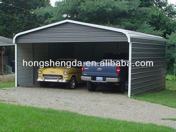 2 Car Carport Cost by China Low Cost Two Car Carports View 2 Car Metal Carport