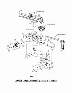 Swisher Model Ls10528h Log Splitter Genuine Parts