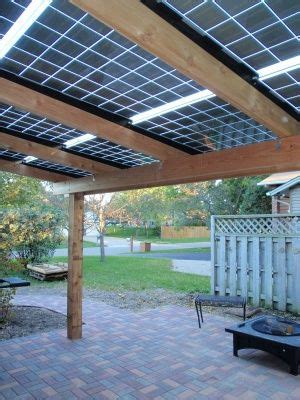 solar patio roof for my yard