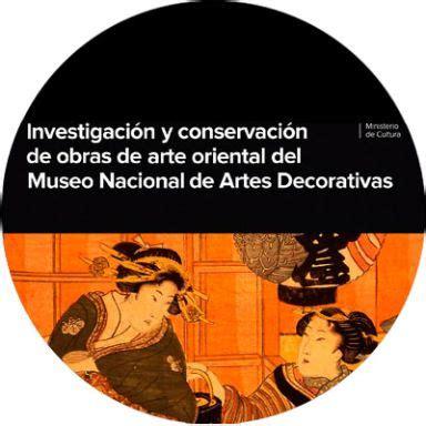 Investigación y conservación de obras de arte oriental del