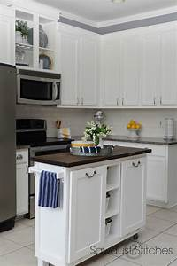remodelaholic diy refinished and painted cabinet reviews With kitchen colors with white cabinets with cute stickers for photos