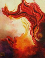 Abstract Fire Paintings