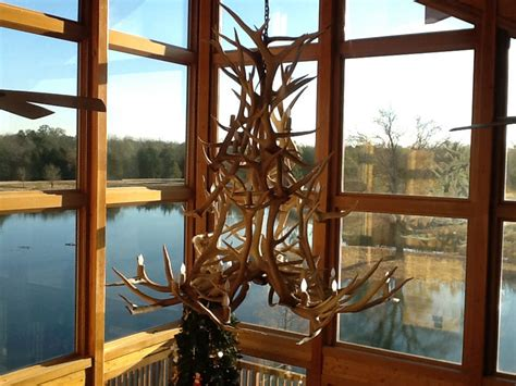 log home decor antler chandeliers