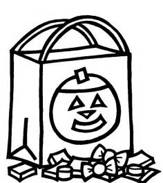 Halloween Candy Coloring Pages Printable