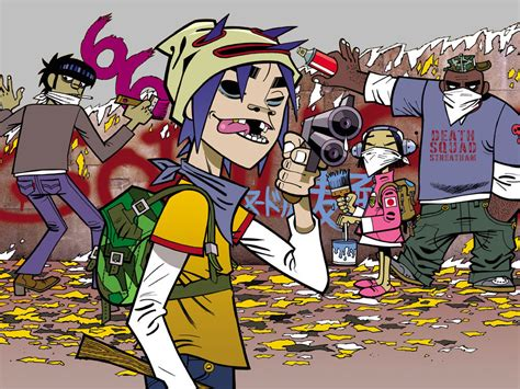 2d, Murdoc, Noodle And Russel