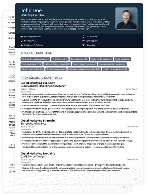awesome  cv format    addictips