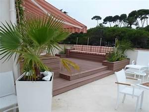 amenagement terrasse bois terrasse en bois nice par With amenagement terrasse en bois