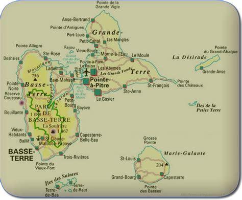 Carte Geographique Du Monde Guadeloupe by Guadeloupe Carte G 233 Ographique Arts Et Voyages