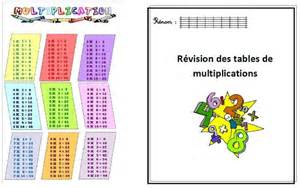tables de multiplication a imprimer ce2 tables de multiplications cycle 3 journal d une pe ordinaire