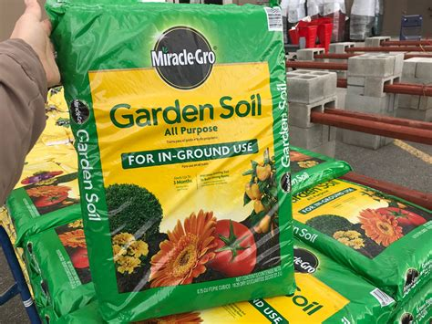 Miracle-gro Garden Soil,  At Home Depot & Lowe's!