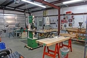 DIY Wood Design: Woodworking shop layout tips
