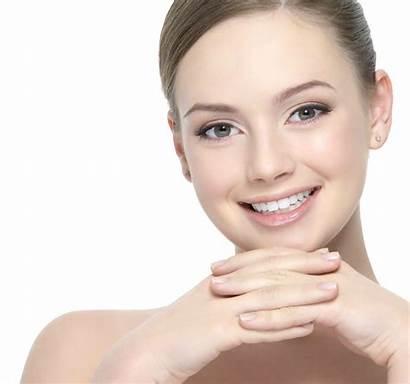 Face Transparent Woman Smiling Facial Makeup Clipart