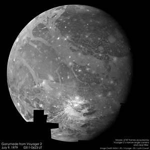 Ganymede Jupiter Moon - Photorator