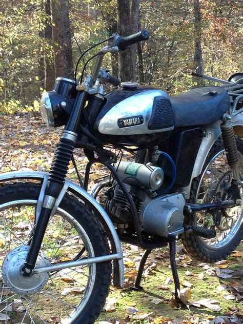 1967 yamaha yl2c 100cc cross country low runs and rides