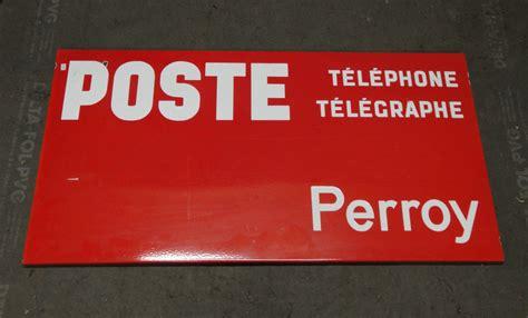 bureau de poste 20 signalisation routière ancienne française et suisse en