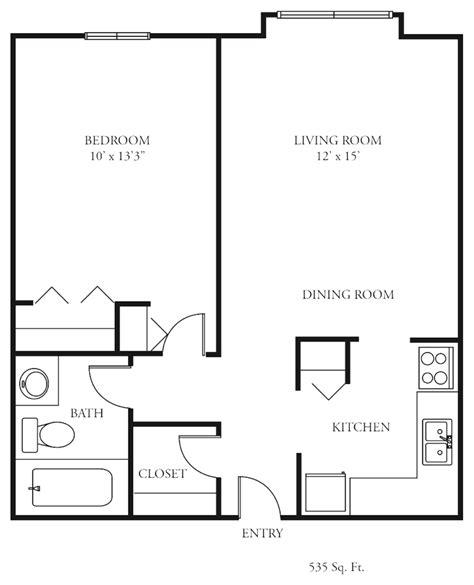 one bedroom floor plan floor plan for 1 bedroom house simple 1 bedroom floor