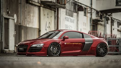 Liberty Walk Audi R8 by Audi R8 By Liberty Walk Is Not For Everyone