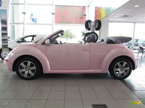 beetle  convertible custom pink grey photo