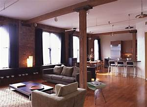 New york city gut renovated loft apartment interior design for Interior decorators new york city