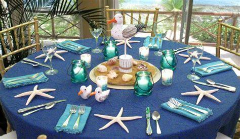 Beach Reception Centerpieces Banquet Table Decorations