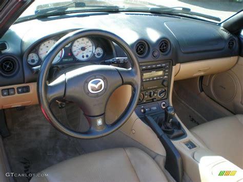 tan interior 2002 mazda mx 5 miata ls roadster photo