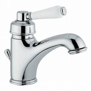 Mitigeur Lavabo Retro : robinetterie r tro mitigeur monotrou de lavabo chrome v ~ Edinachiropracticcenter.com Idées de Décoration