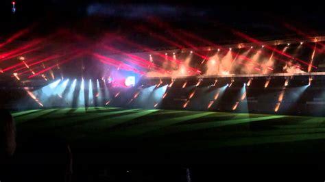 glow psv stadion lichtshow youtube