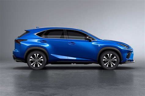 blue lexus nx 2018 lexus nx 300h showcased in india autobics