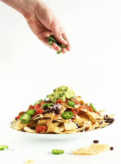Vegan Nachos Queso Damn Beans Plate Recipes