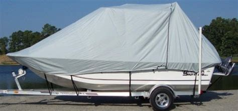 Carolina Skiff Boat Cover With T Top by Carver Top And T Top Boat Covers